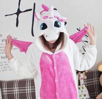 Hot Sale Lovely Cheap Kigurumi Pajamas Anime Unicorn Cosplay Costume Adult Dress Sleepwear Halloween