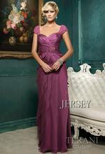 free shipping maxi 2013 dinner dress brides maid formal dresses floor length vestidos long chiffon purple party evening