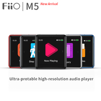 FiiO M5 HiFi MP3 player|AK4377|CSR8675|32bit/384kHz|Native DSD128|Touch Screen| aptX/LDAC transmit/receive|USB DAC|Calls Support