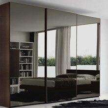 Раздвижные шкафы раздвижная зеркальная дверь фанерный шкаф