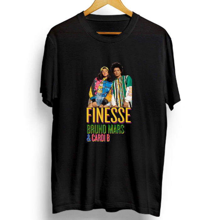 T-shirt Bruno Mars Finesse Feat Cardi B Printed T Shirt Short Sleeve Men Funny Casual Brand Shirts Top Men Lastest ...