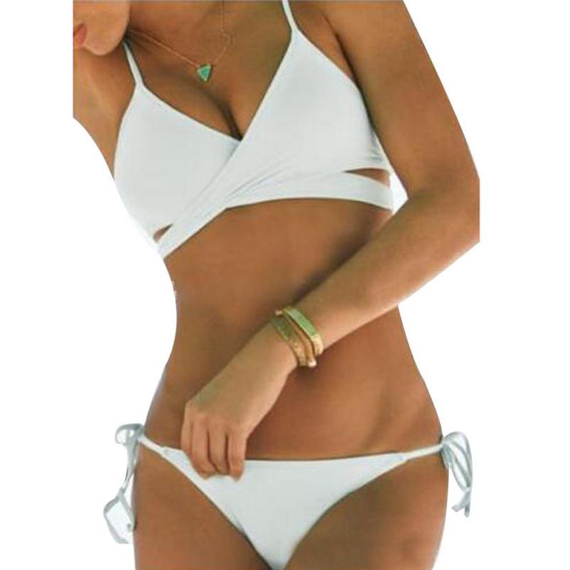 insieme sexy del bikini perizoma bikinis impostato triangolo costume da bagno bikini alluncinetto