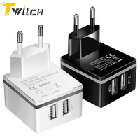 Twitch usb charger For iphone 7 iphone 7 plus Xiaomi Samsung Galaxy S8 Solar Charger Quick Charge 3.0 Phone Charger Fast Charger