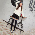 Sexy Women's Cotton Lace Top Bows Bowknot Thigh Over Knee High Socks Multi Colors Stockings Japanese College Style
