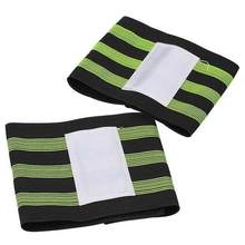 New 2pcs Bike Reflective Ankle Leg Tape Band Outdoor Cycling Trousers Pant Bands Clips Strap Bicycle Protective Gear Accessories(China)