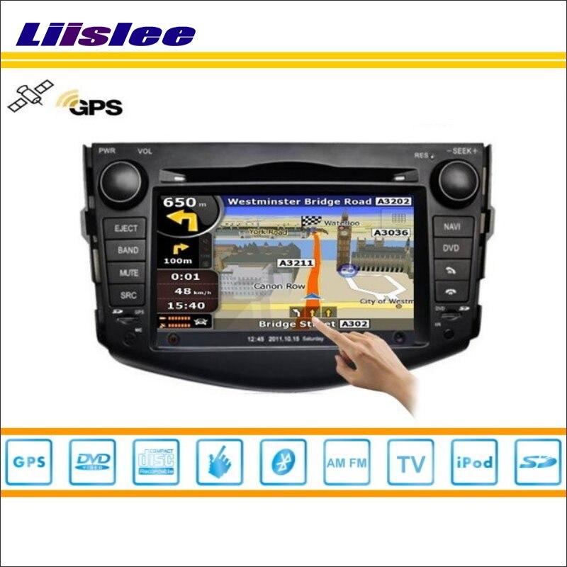 Liislee для Toyota Vanguard 2005 ~ 2012 GPS nav Navi навигация Системы Радио DVD IPOD BT USB AUX HD экран мультимедиа Системы