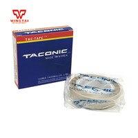 100% Coréia TACONIC fita de tecido De Fibra de vidro Fita Adesiva T0.13mm * W50mm * L10m