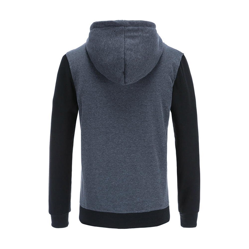 Puimentiua Autumn Casual Men Sweatshirt Hoodies Streetwear Hoodies Oblique Male Fitness Pullover With Long Sleeve Fashion Coat