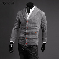 Pullover Men V Neck Sweater Men S Brand Slim Pullovers Casual Sweater Knitwear Pull Homme High