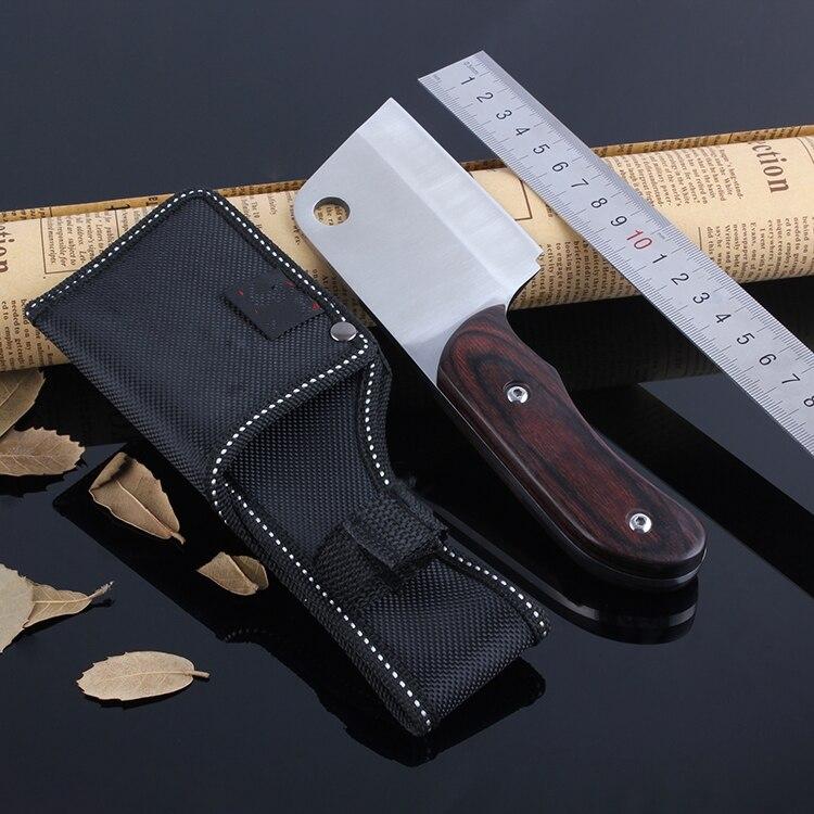 Ebony handle caça tático faca de Acampamento ferramenta da cozinha de Alta aço carbono ATS-34 escultura faca mini multi-função faca pequena