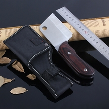 ebony handle tactical hunting knife Camping  kitchen tool High carbon steel ATS-34 carving knife mini multi-function small knife ebony small light plane tool