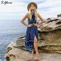 M. H. Artemis 3 Colores Loose Boho Popular personalizado Floral Playa Maxi Raja Del Lado Largo Vestido de Noche Del Banquete de boda de Moda Vestido Maxi