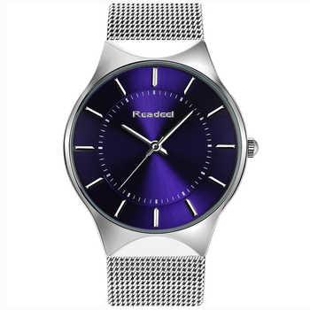 Readeel Fashion Mens Watches Top Brand Luxury Quartz Watch Men Casual Slim Mesh Steel Ultra Thin Sport Watch Relogio Masculino - DISCOUNT ITEM  90% OFF All Category