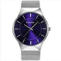 Readeel Mode Herren Uhren Top Brand Luxus Quarzuhr Männer Beiläufige Dünne Mesh Stahl Ultra Dünne Sport Uhr Relogio Masculino