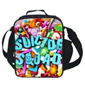 Suicide Squad Lunch Bag Thermal Food Picnic Lunch Bags for Women kids Men Cooler Lunch Box Bag Tote