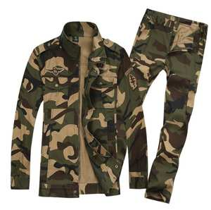 9ac693ffe87 Hunting Camouflage Clothing Men's Tactical Training Sets Military Uniform  Python