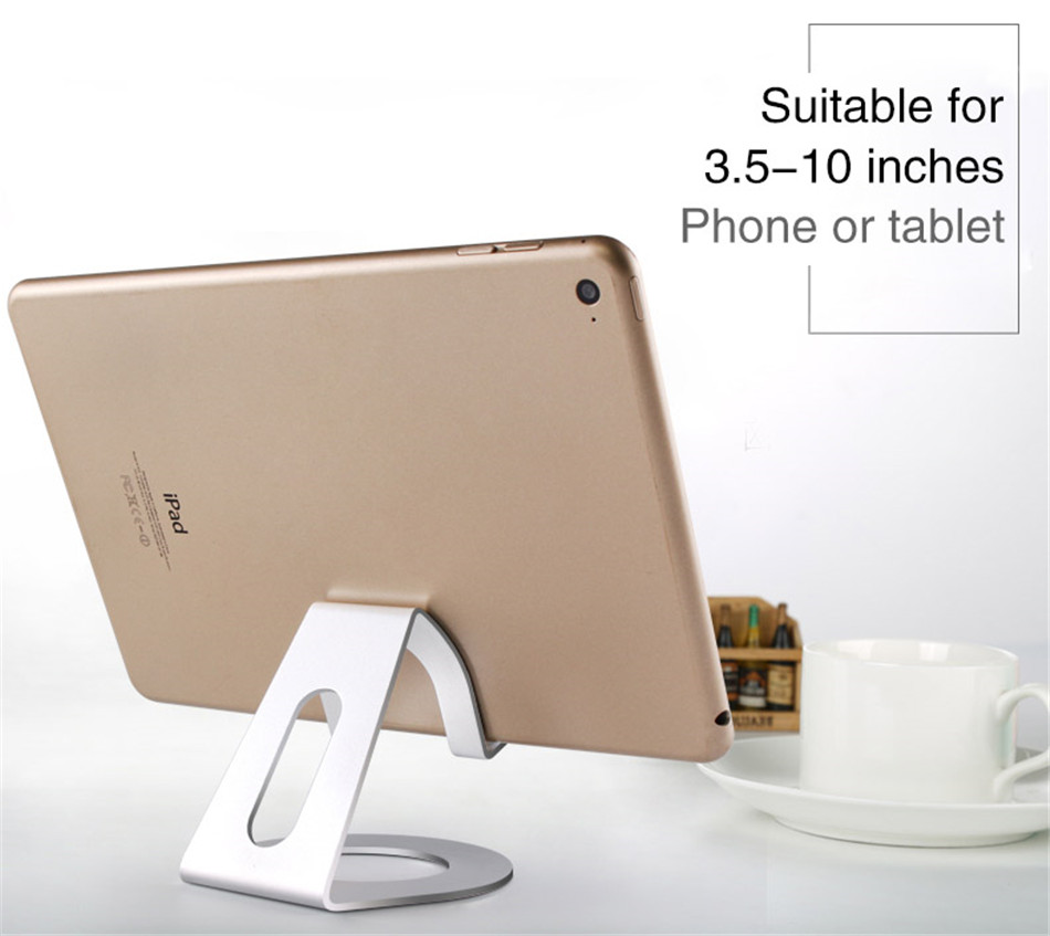Metal Mobile Phone Holders Stands Universal Tablet Stand Desktop Holder For iPhone X 7 8 Plus For Samsung S9 Plus For Huawei (5)