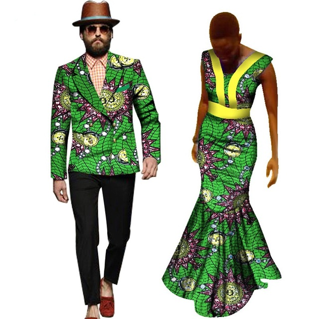 cf8984900a7 2017 Real Promotion Cotton Women African Print Dresses