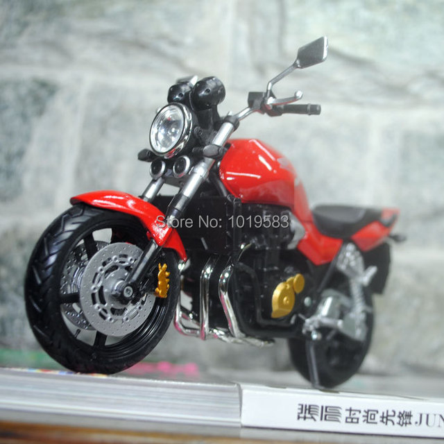 Brand New Classical Motorbike Model Toys HONDA CB1300SF Hot Red Diecast Metal Motorcycle Model Toy For Gift/Kids/Collection