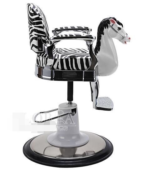 Купить с кэшбэком New children's clipping chair. Baby hair chair. Miniature white horse barber chair. Lift..