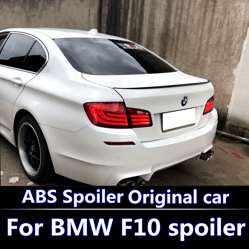 For 2010 2015 BMW F10 F18 Spoiler For BMW M5 520i 528i