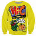 2017 Hip Hop 3D Hoodie Men Funny Hi Vitamin C Design Sweatshirt Men Pullover Men Pullover Sudaderas Hombre Size S-XL