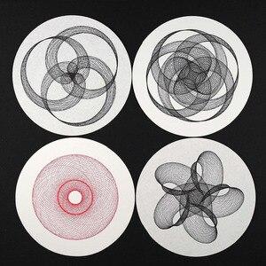 Image 5 - Temel baskı Basswood 195mm DIY Cycloid çizim organik hareket heykel Dhugger Geek oyuncak makinesi Graph Plotter Duo grafik