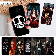 E The Vampire Diaries Custodia In Silicone Colorato per Samsung A2 Core A3 A5 A6 Più A7 A8 A9 A10 A30 a50 A60 A70 A10S A30S A50S A70s(China)