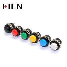 16 мм пластиковый выключенный(ВКЛ) Мгновенный нормально открытый кнопочный переключатель