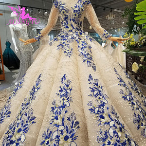 Image 5 - AIJINGYU Best Wedding Dress Sell Gowns Gypsy Style Bolero White Long Sleeve Medieval Clothes Wedding Dresses