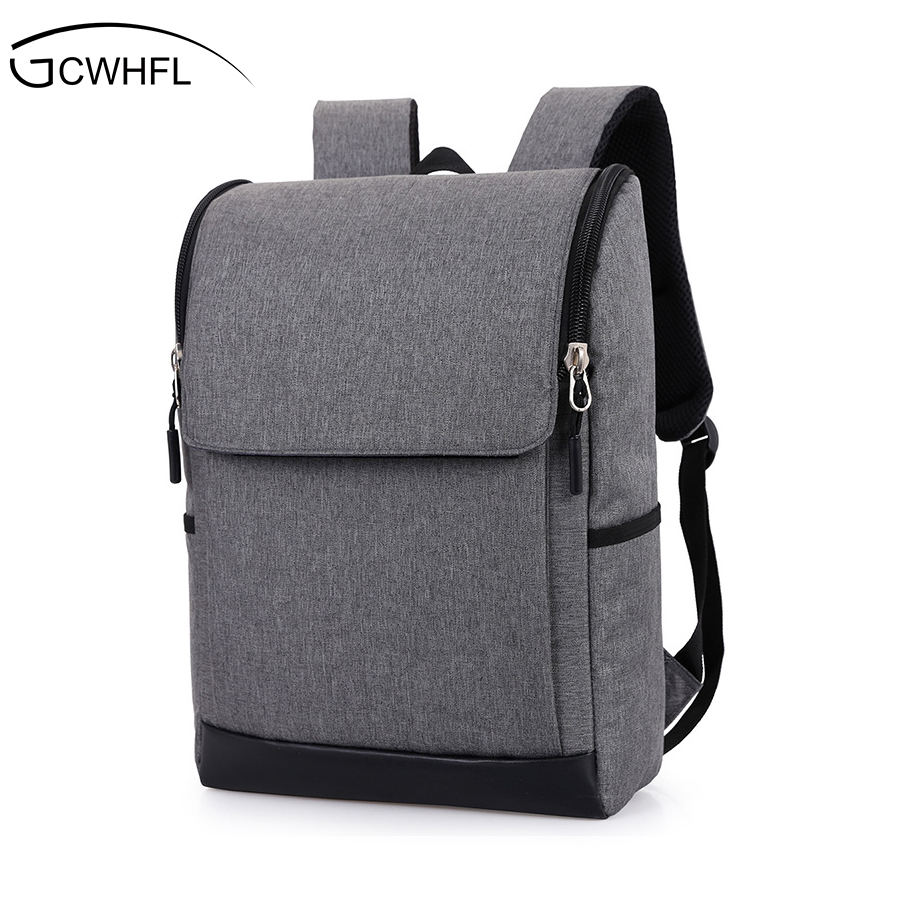 GCWHFL Brand 2017 Fashion Men Backpacks For Teenagers Mochila Laptop 17 Inch Notebook Computer Bags Men Backpack School Rucksack dispalang personalized geometric backpack for laptop notebook school bags for college students men s travel bag rucksack mochila