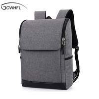 GCWHFL Brand 2017 Fashion Men Backpacks For Teenagers Mochila Laptop 17 Inch Notebook Computer Bags Men