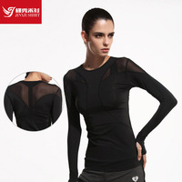 New Women Yoga Top Women Yoga Shirts Long Sleeve Gym Shirts Women Fitness Clothing Shirt Female