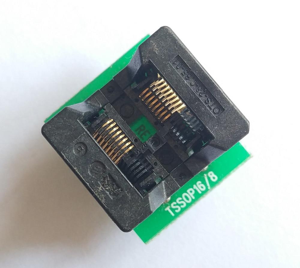 TSSOP16 TO DIP16 SSOP16 SSOIC16 IC Test Programmer Socket Adapter TSSOP14 TL866A TL866CS programmer IC Test Socket adapter TSSOP16 TO DIP16 SSOP16 SSOIC16 IC Test Programmer Socket Adapter TSSOP14 TL866A TL866CS programmer IC Test Socket adapter