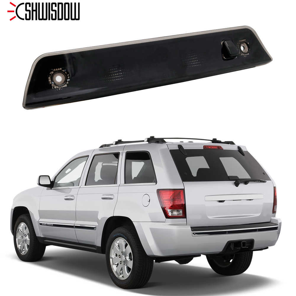 Tail-Light Jeep Grand-Cherokee 2008 2007 2009 2005 Rear for Smoked-Lens LED Third-Brake
