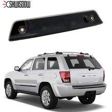 Светодиодный стоп хвост светильник задние колеса, высокая крепление стоп светильник дымчатые линзы для Jeep Grand Cherokee 2005 2006 2007 2008 2009 2010