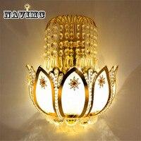 Gold Kristall led Wandleuchten Lampen für Schlafzimmer Wohnzimmer Nacht Bad Schrank Nachtlicht Moderne Luxus Wandleuchte