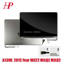 """100% New Original Mid2015 Year 15.4"""" Retina A1398 LCD LED Screen For Macbook Pro A1398 LCD Screen Assembly 2880×1800"""