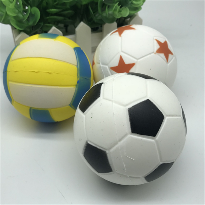 Mobile Phone Straps Uvr Mobile Phone Straps Anti-stress Pu Squishy Slow Rebound Toy Sports Ball Football Soccer Squishi Volleyball Squeeze Squishes Diversified In Packaging Cellphones & Telecommunications