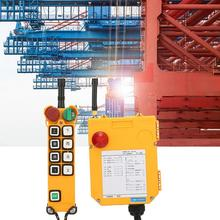 F24-8S Industrial High Reliability Crane Wireless Remote Control 100 Meters button switch high quality f24 60 industrial joystick remote control crane wireless remote control