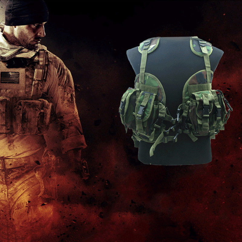 New 2018 Tactical Vests Paintball Military Modular Black Tactical Vest Carrier Atlantic Tactical vest + Shuidai Paintball