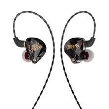Ak Operafactory OS1 In Ear Monitor 10Mm Grafeen Membraan Dynamische Oortelefoon Hifi Bass Pop Headset Oordopjes Headplug 5N ofc Kabel
