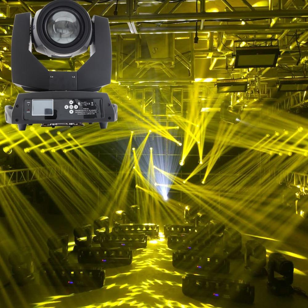 Faisceau d'écran tactile de haute qualité 230w 7r faisceau aiguisé lumière principale mobile avec 2 prismes effet arc-en-ciel coloré et powercon dans