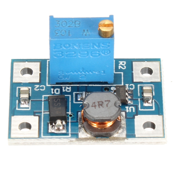 1PC New Arrival 2A DC-DC SX1308 High Current Adjustable Boost Module Short Circuit Overheating Protection Function Board
