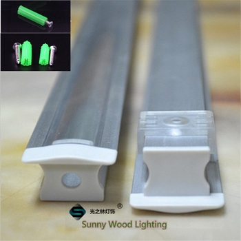 5-30pcs/lot  40inch 1m led aluminium profile,led channel ,high depth embedded cabinet light housing  for 12mm PCB board