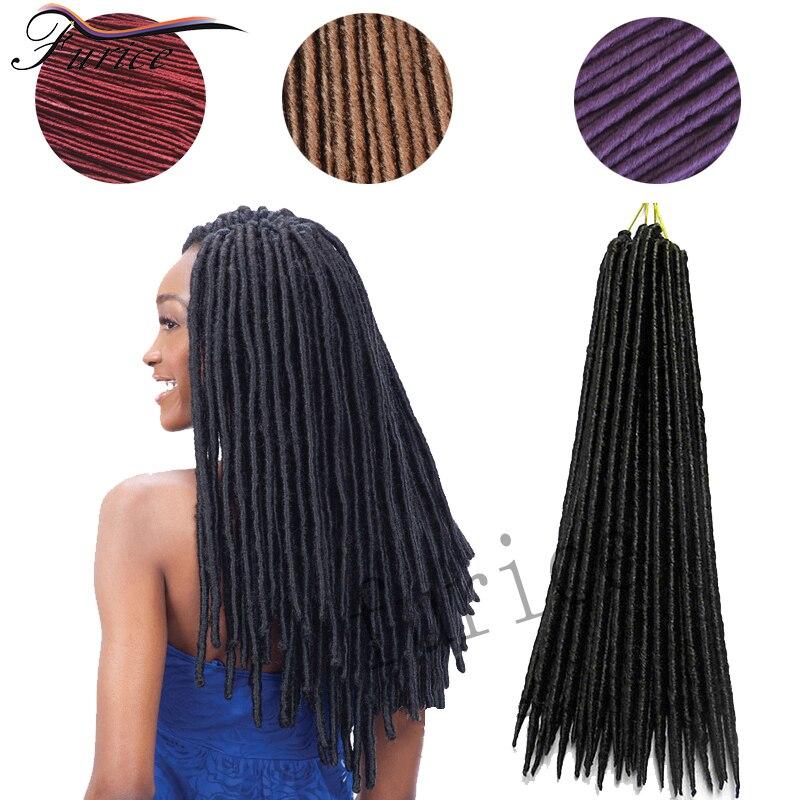 Faux Locs Crochet Hair Extensions Curly Havana Mambo Faux Locs Crochet Senegalese Twist Hair False Hair Crochet Locs