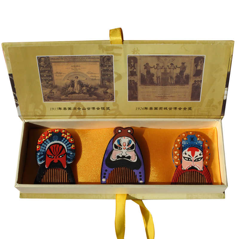 ONEICE Get A Foreigner Changzhou Comb Specialty Gifts Abroad Beijing Opera Mask Ornaments M Wedding Decoration