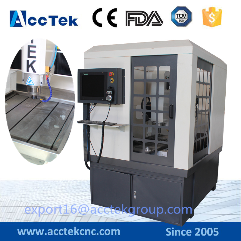 AccTek high precision 3d cnc milling machine for metal /cnc router machine for wood engraving