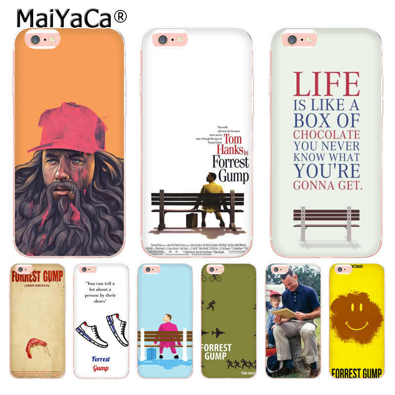 MaiYaCa Movie Forest Gump новейший модный чехол для телефона Apple iphone 11 pro 8 7 66S Plus X 5s SE XR XS MAX