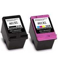 901 napełnić  wymiana wkładu z tuszem do HP 901 XL dla 901XL do HP Officejet 4500 J4500 J4540 J4550 J4580 J4640 J4680c w Tusze do drukarek od Komputer i biuro na
